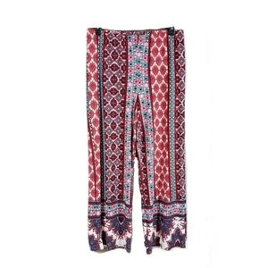 Fig and flower wide leg pull on lounge pants
